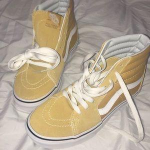 Shoes - Mustard Yellow Vans